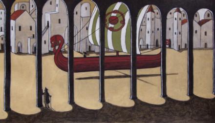 La barca che va per mare e per terra #2